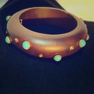 A beautiful Barrera wooden bracelet